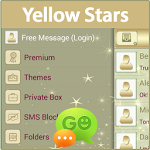 GO SMS Yellow Stars ratings and reviews, features, comparisons, and app alternatives
